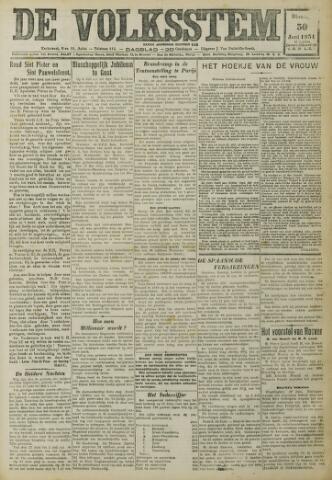 De Volksstem 1931-06-30