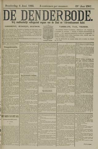 De Denderbode 1895-06-06