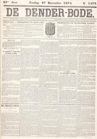De Denderbode 1874-12-27