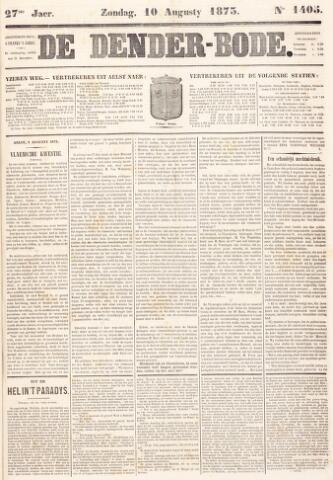 De Denderbode 1873-08-10