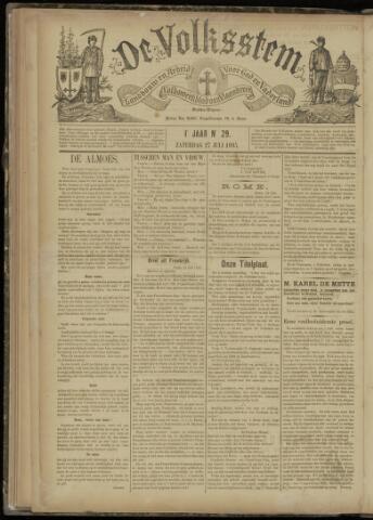 De Volksstem 1895-07-27