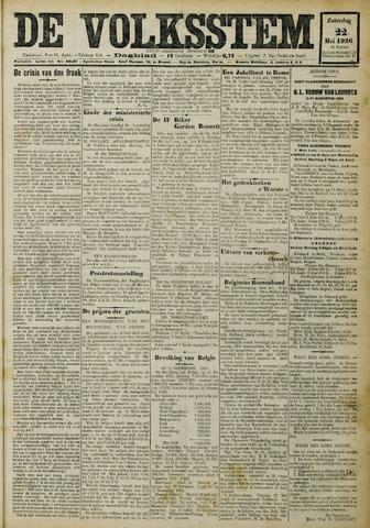 De Volksstem 1926-05-22