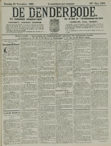 De Denderbode 1909-11-21