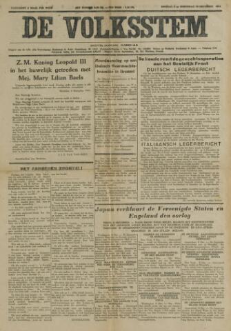 De Volksstem 1941-12-09