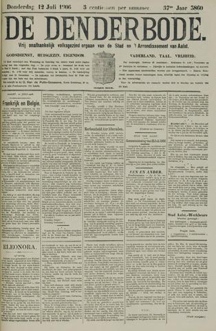 De Denderbode 1906-07-12