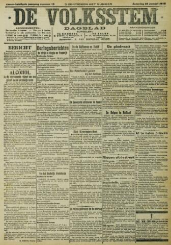 De Volksstem 1915-01-23
