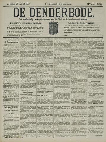 De Denderbode 1907-04-28