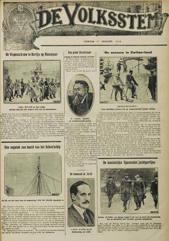 De Volksstem 1914-01-11