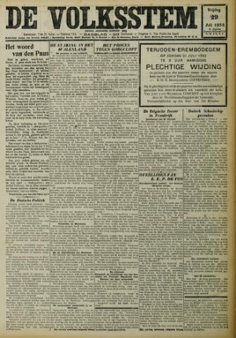 De Volksstem 1932-07-29