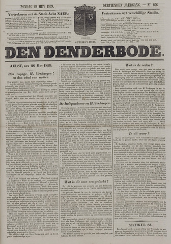 De Denderbode 1859-05-29