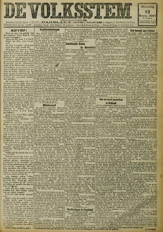 De Volksstem 1923-12-12