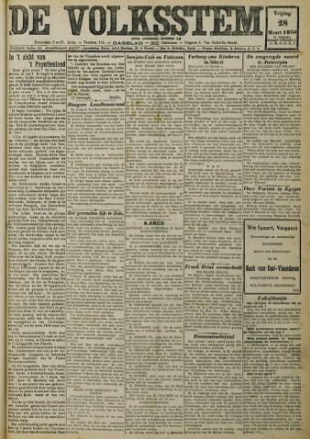 De Volksstem 1930-03-28