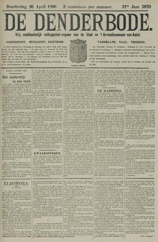De Denderbode 1906-04-26