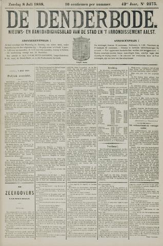 De Denderbode 1888-07-08