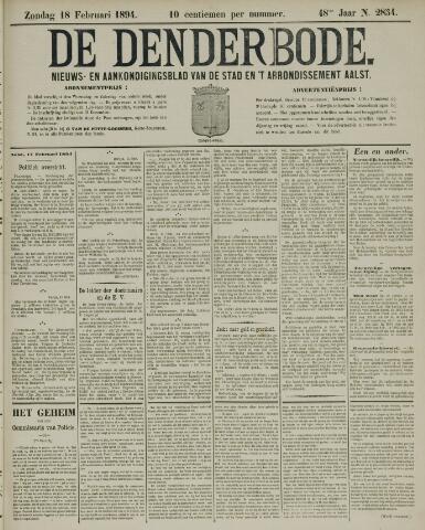 De Denderbode 1894-02-18