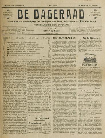 De Dageraad 1909-04-11