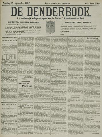 De Denderbode 1907-09-15