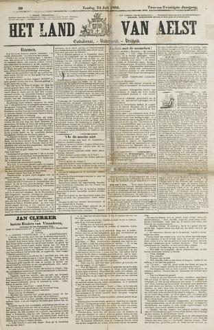 Het Land van Aelst 1881-07-24