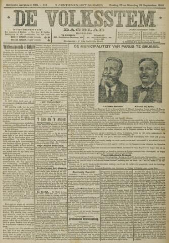 De Volksstem 1910-09-25