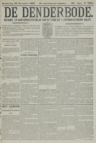 De Denderbode 1893-11-30