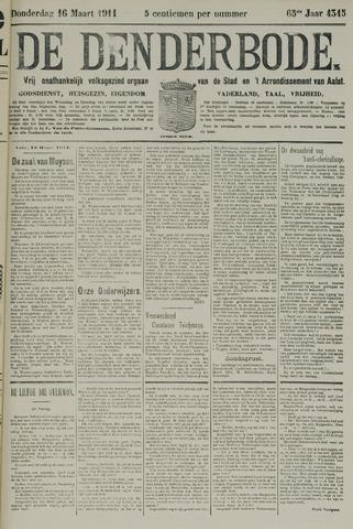 De Denderbode 1911-03-16