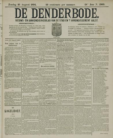 De Denderbode 1894-08-26