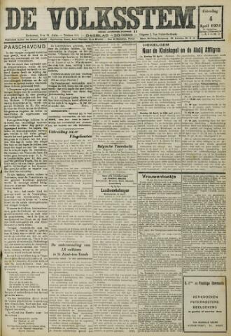 De Volksstem 1931-04-04