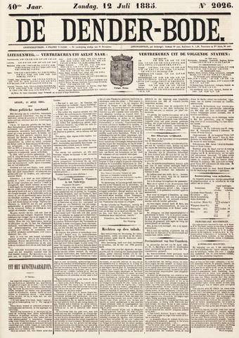 De Denderbode 1885-07-12