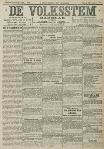 De Volksstem 1910-11-04