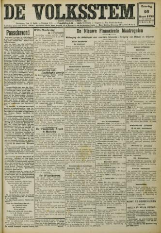 De Volksstem 1932-03-26