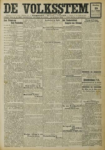 De Volksstem 1926-06-29