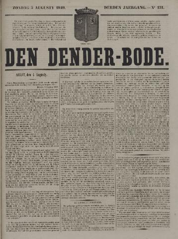 De Denderbode 1849-08-05
