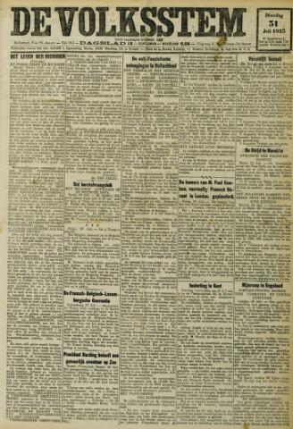 De Volksstem 1923-07-31