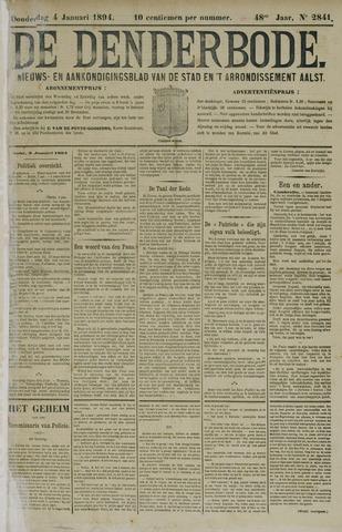 De Denderbode 1894-01-04