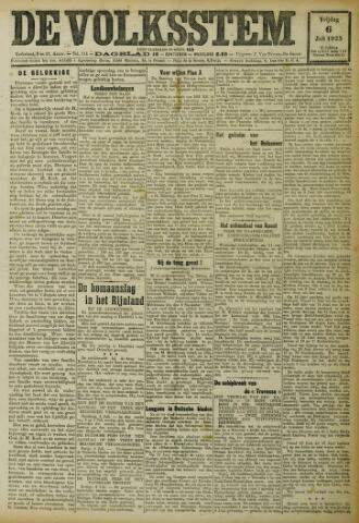 De Volksstem 1923-07-06