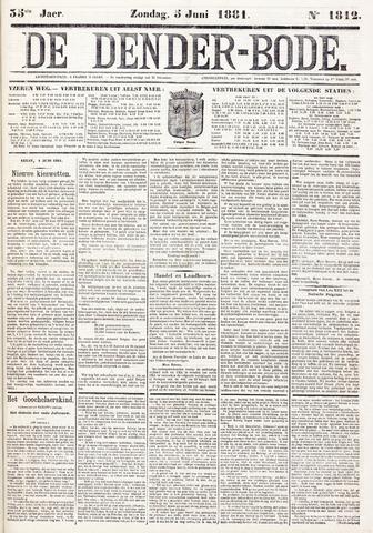 De Denderbode 1881-06-05