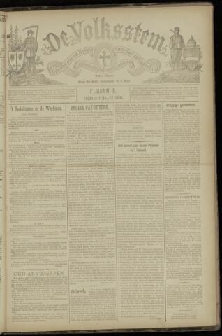 De Volksstem 1895-03-01