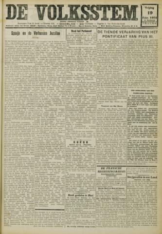 De Volksstem 1932-02-19