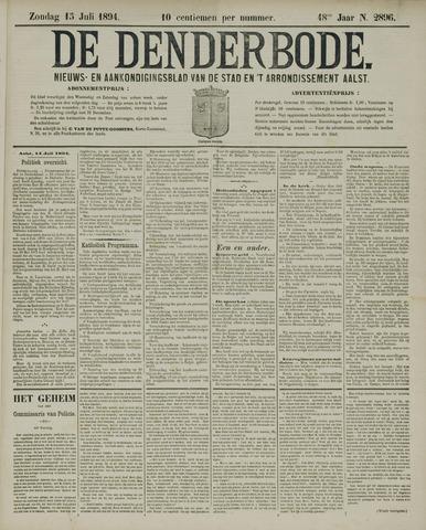 De Denderbode 1894-07-15