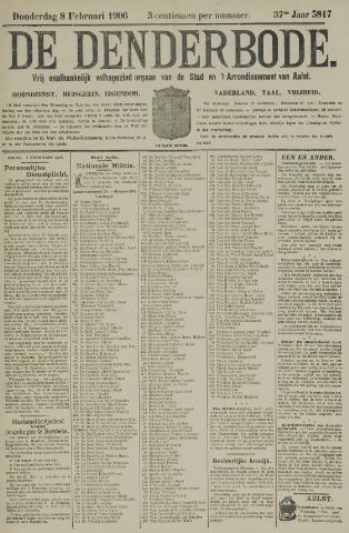 De Denderbode 1906-02-08