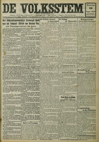 De Volksstem 1932-08-10
