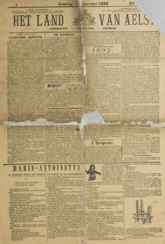 Het Land van Aelst 1892