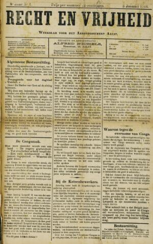 Recht en Vrijheid 1908