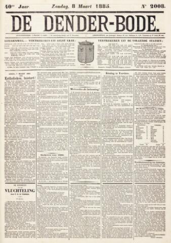 De Denderbode 1885-03-08