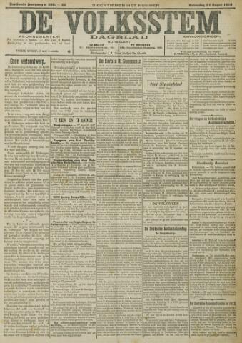 De Volksstem 1910-08-27