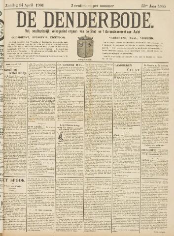 De Denderbode 1901-04-14