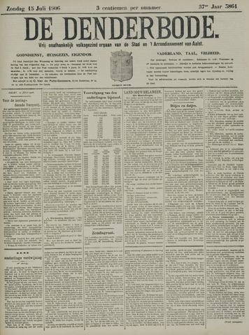 De Denderbode 1906-07-15