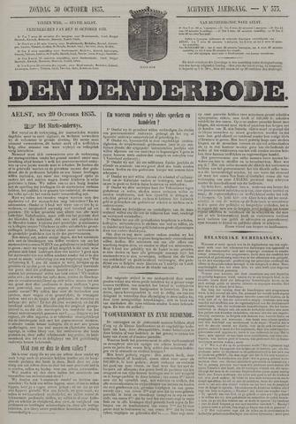 De Denderbode 1853-10-30