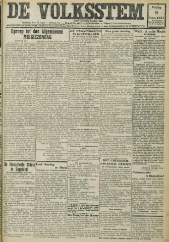 De Volksstem 1931-10-09