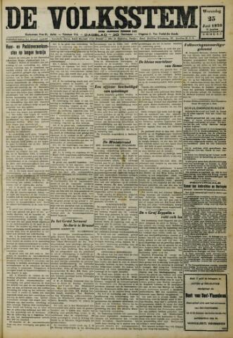 De Volksstem 1930-06-25